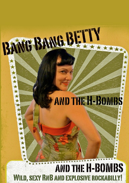 Bang Bang Betty & The H-Bombs + DJ Holly Doll