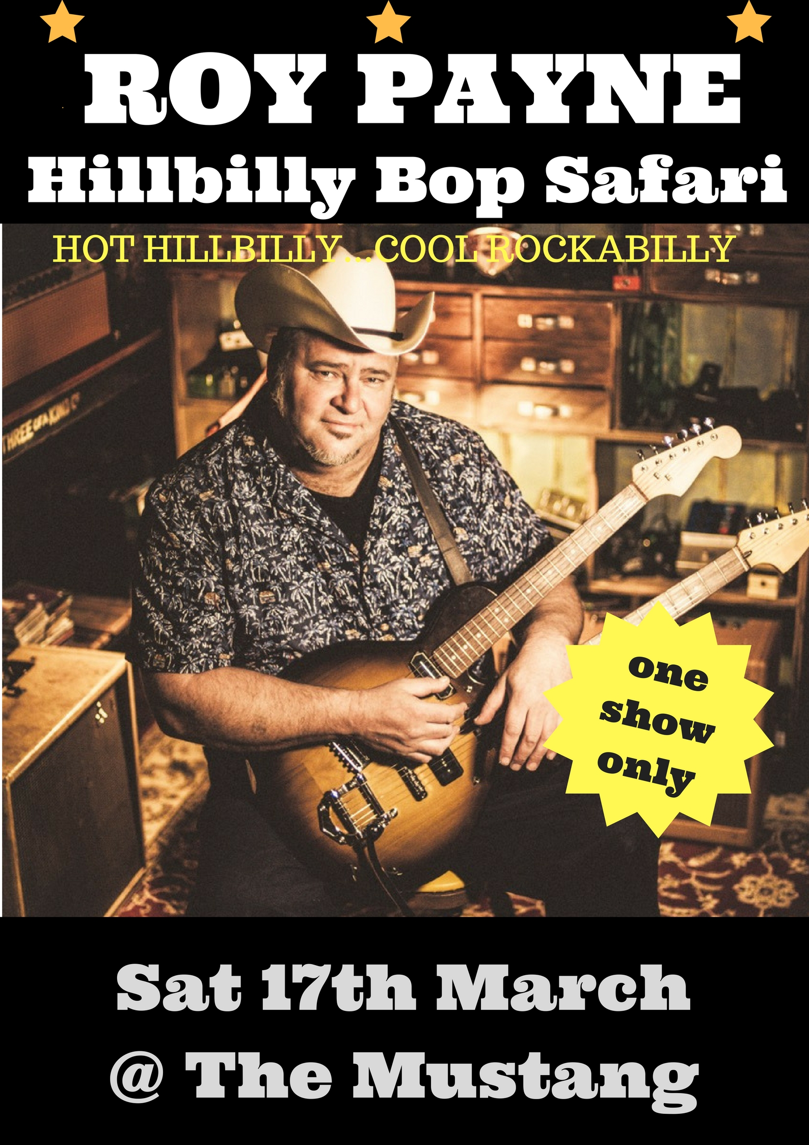Roy Payne's Hillbilly Bop Safari