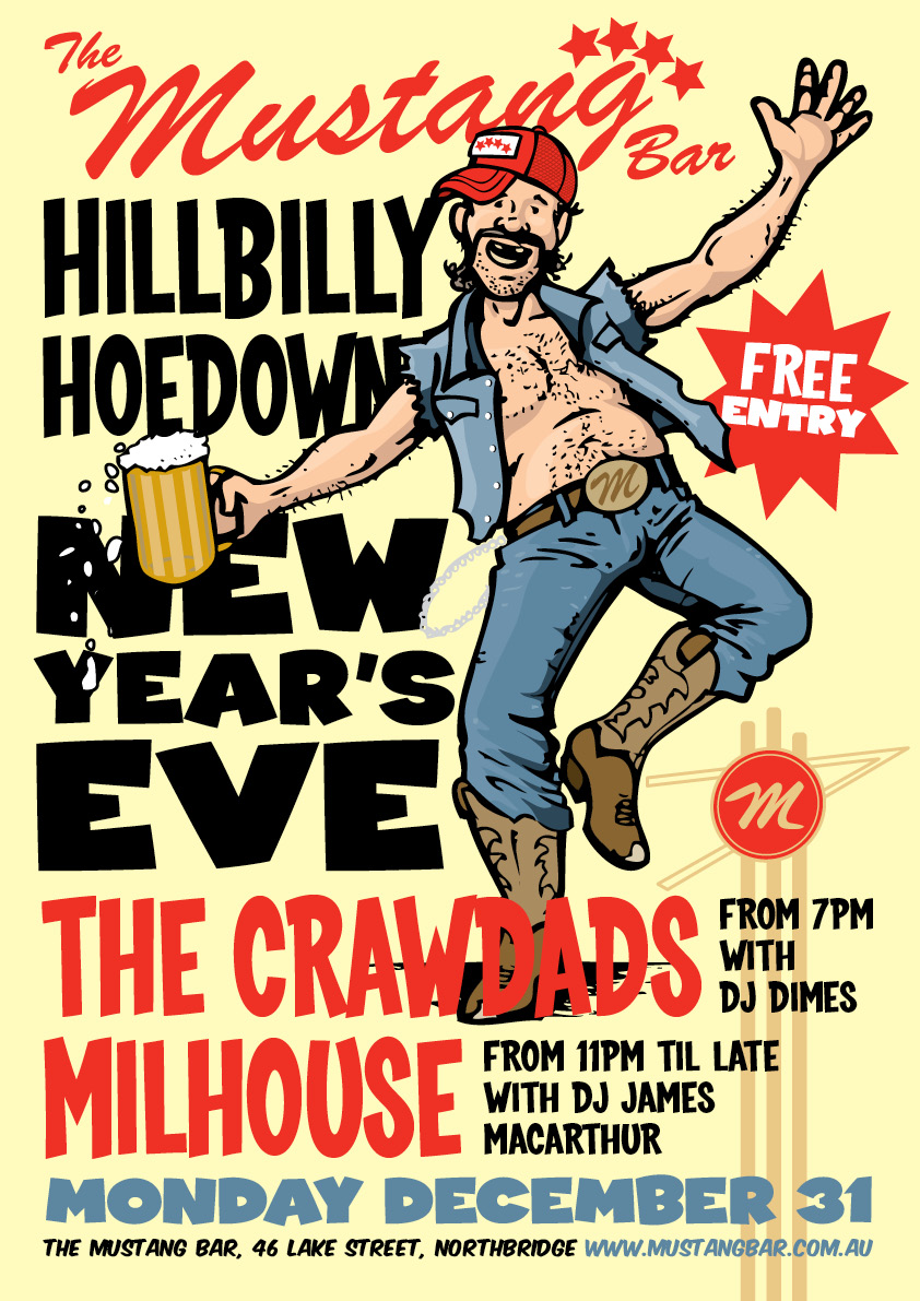 Hillbilly Hoedown New Year's Eve Party!