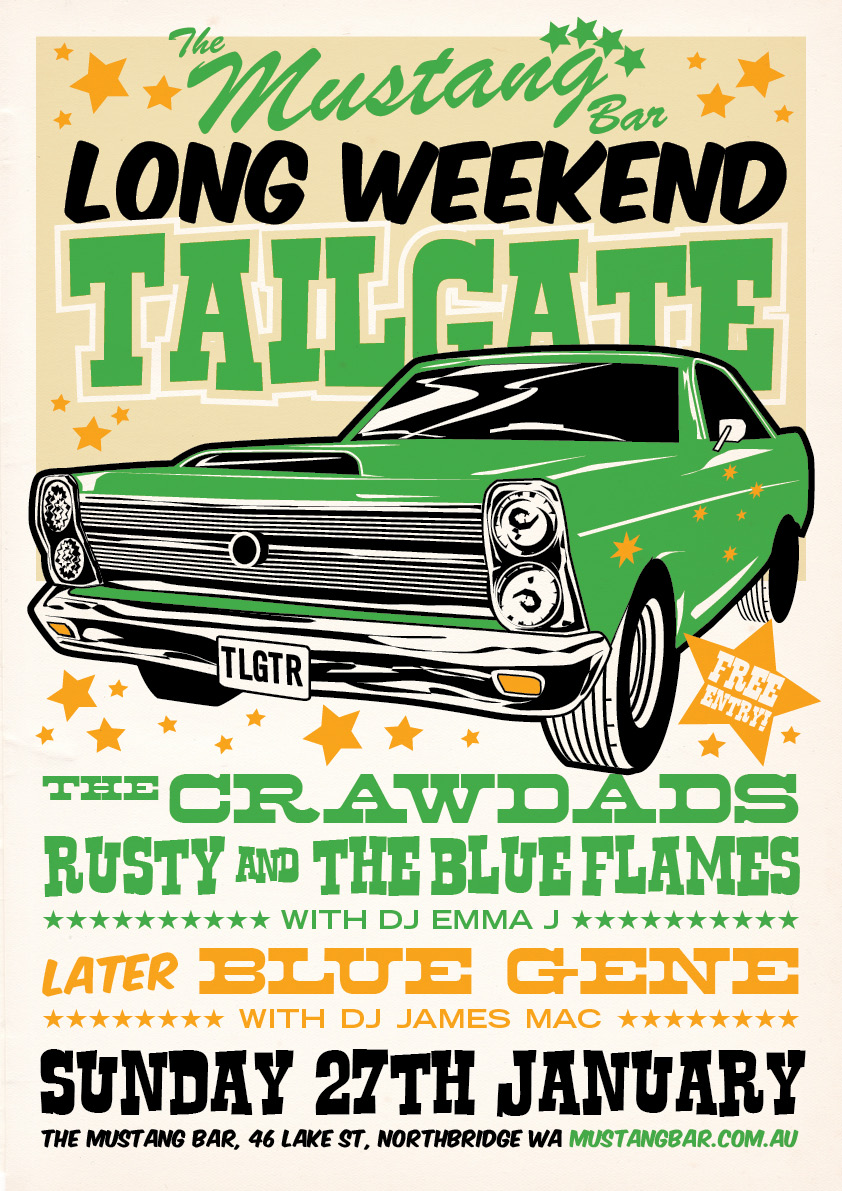 Tailgate Sunday Party
