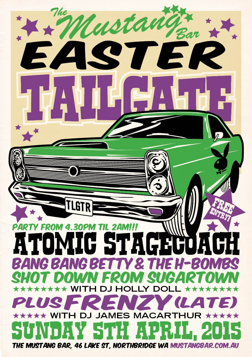 Easter Sunday Tailgate – FREE ENTRY!