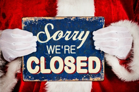 Closed Christmas Day