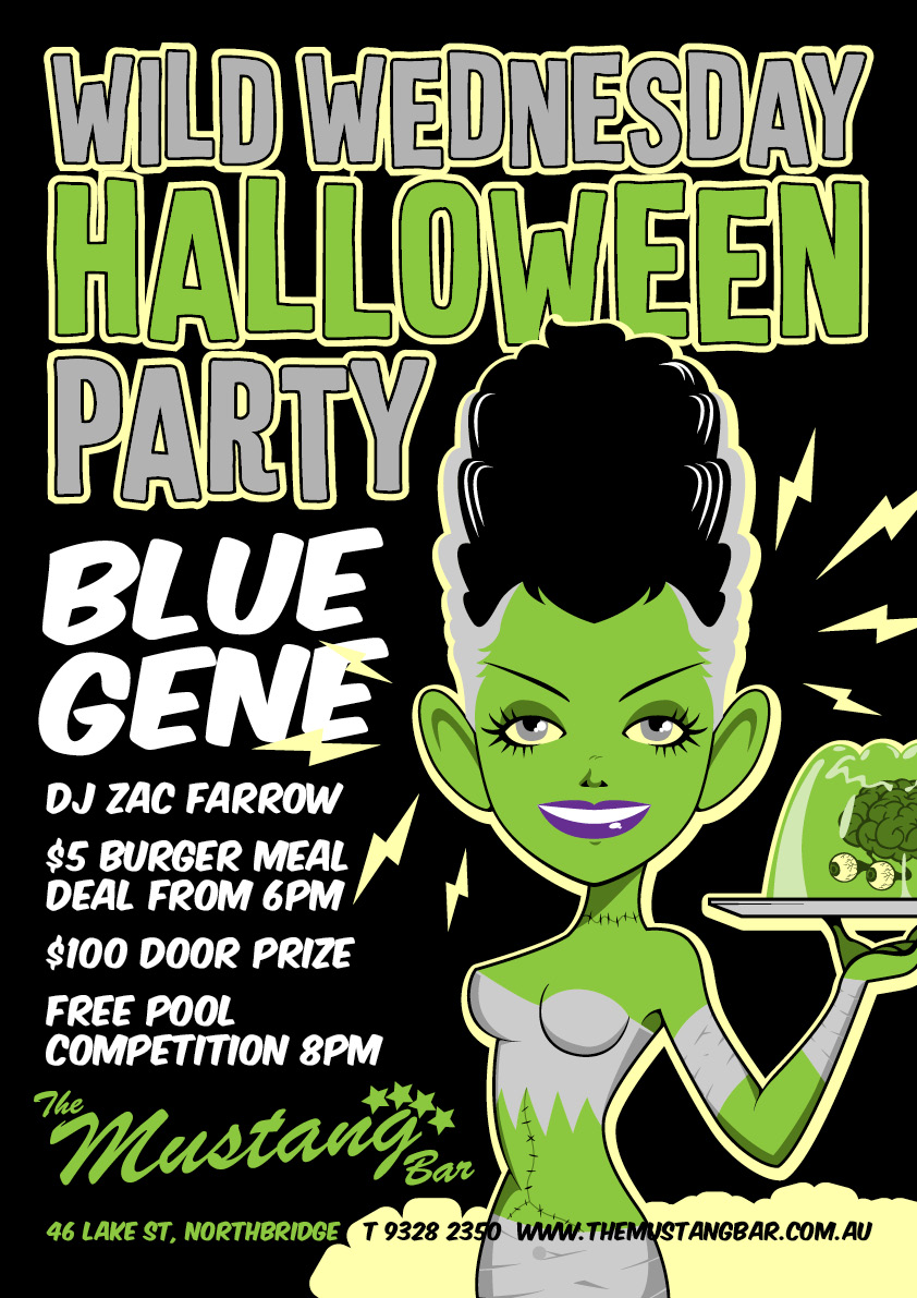 Halloween with BLUE GENE!