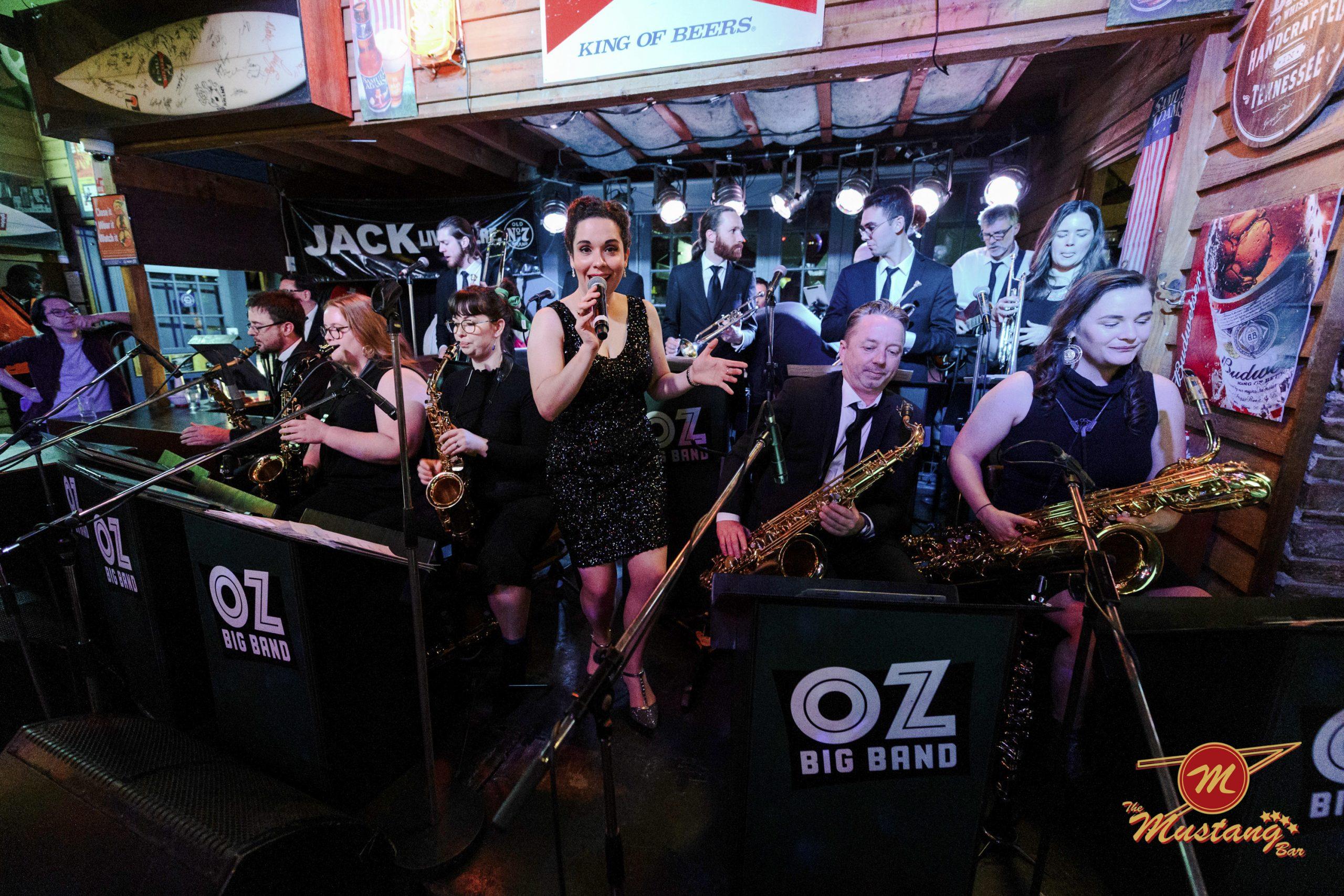 Oz Big Band + Flash Nat