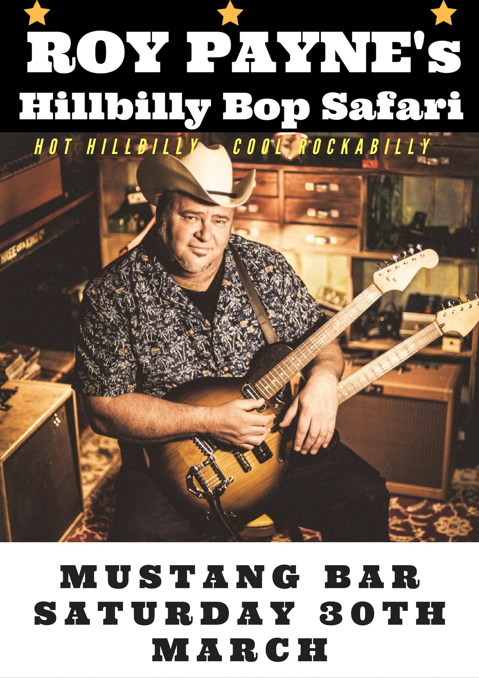 Roy Payne's Hillbilly Bop Safari + DJ Dimes