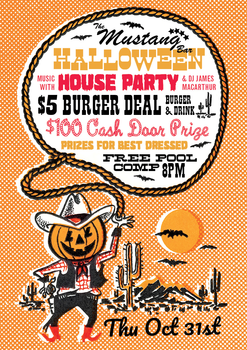 Halloween with HOUSE PARTY!
