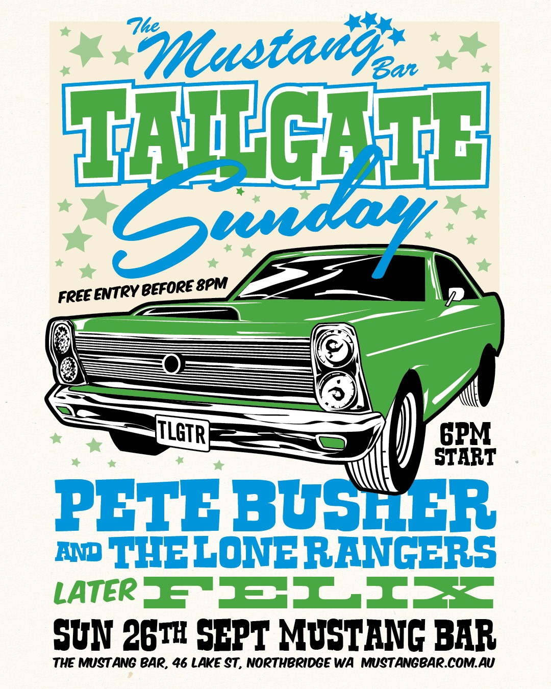Tailgate Sunday!